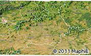 Satellite 3D Map of Litoměřice