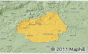 Savanna Style 3D Map of Litoměřice