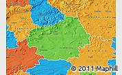 Political Map of Litoměřice