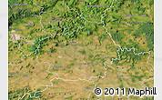 Satellite Map of Litoměřice