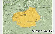 Savanna Style Map of Litoměřice