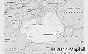 Silver Style Map of Litoměřice
