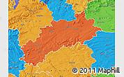 Political Map of Louny