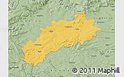 Savanna Style Map of Louny