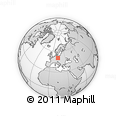 Outline Map of Ústí N.L.