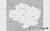 Gray Map of Vysočina