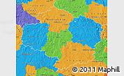 Political Map of Vysočina