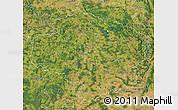 Satellite Map of Vysočina