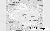 Silver Style Map of Vysočina