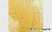Physical Map of Kahemba