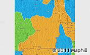 Political Map of Kahemba