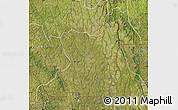 Satellite Map of Kahemba