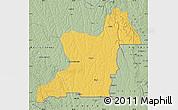 Savanna Style Map of Kahemba