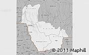 Gray Map of Kwango