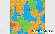 Political Map of Kwango