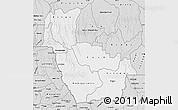 Silver Style Map of Kwango