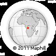 Outline Map of Kwango