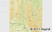 Physical 3D Map of Popokabaka