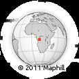 Outline Map of Popokabaka