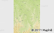 Physical Map of Bulungu/Kikwit