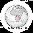 Outline Map of Bulungu/Kikwit
