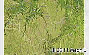 Satellite Map of Gungu
