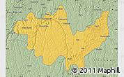 Savanna Style Map of Gungu