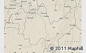 Shaded Relief Map of Gungu