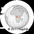 Outline Map of Gungu