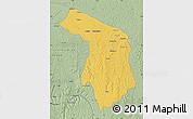 Savanna Style Map of Idiofa