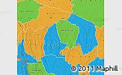 Political Map of Kwilu