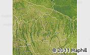 Satellite Map of Kwilu