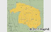 Savanna Style Map of Kwilu