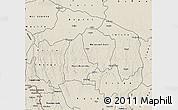 Shaded Relief Map of Kwilu