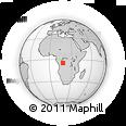 Outline Map of Kwilu