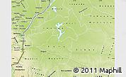 Physical Map of Mai-Ndombe