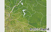 Satellite Map of Mai-Ndombe