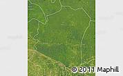 Satellite Map of Oshwe