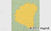 Savanna Style Map of Oshwe