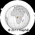 Outline Map of Mai-Ndombe