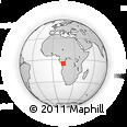 Outline Map of Mbanza-Ngungu