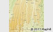 Physical Map of Kimvula