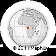 Outline Map of Kimvula