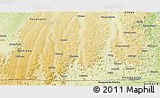 Physical Panoramic Map of Kimvula