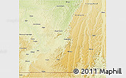 Physical 3D Map of Madimba