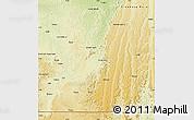 Physical Map of Madimba