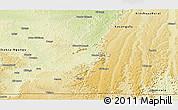 Physical Panoramic Map of Madimba