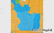 Political Shades Map of Lukaya