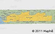 Savanna Style Panoramic Map of Bas-Zaire