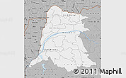 Gray Map of Equateur